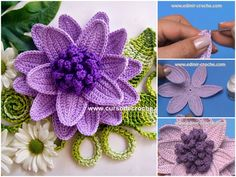 Hello everyone. I want to share withyou this video tutorial of how to crochet voluminous flower. This video is made by Edinir- Crocheand explain you in minimal detail how to make this artwork. Complexity: Advanced Beginner Hope you like it.Please comment here if you have any question! Source : Edinir- Croche Thanks for watching! Follow…