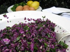 Body Ecology Raw Vegan Red Cabbage Salad. I LIVED on this salad when I was on BED Stage 1 and I still eat it every week. It is so simple and full of fresh flavour. It is absolutely delicious!