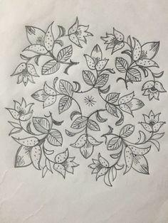 15 to 1 straight dotted flower rangoli. Indian Rangoli Designs, Simple Rangoli Designs Images, Small Rangoli Design, Rangoli Designs With Dots, Rangoli With Dots, Beautiful Rangoli Designs, Muggulu Dots, Kolam Dots, Rangoli Simple