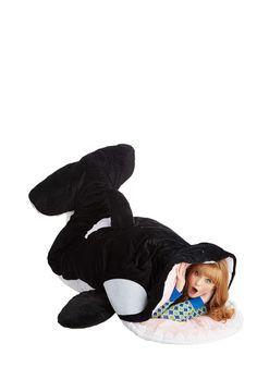 Sea-nic Adventures Sleeping Bag in Orca, #ModCloth