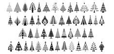 Gallery For > Art Deco Christmas Tree Ornaments