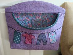 Thread Head: Clothespin Bag Tutorial