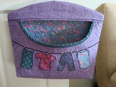 #Clothespin #Bag #Tutorial (free)
