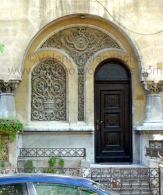 Daily Picture Tree of Life Symbol on Neo-Romanian Doorway