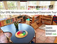 The EPIC Montessori Homeschool Classroom Tour Series!