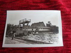 alte AK Roitzsch b. Brehna Bitterfeld  um 1959 ungelaufen Freibad