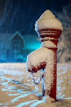 First snow by Olemik, via Flickr