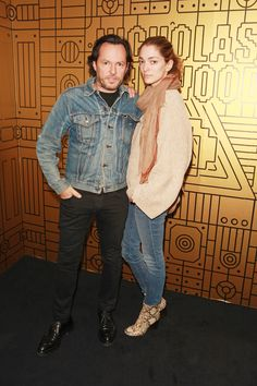 The Best Parties of London Fashion Week Spring 2016 - Alexandre De Betak and Sofia Sanchez De Betak-Wmag