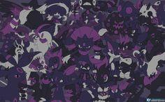 Every Dark Pokemon Wallpaper by LVStarlitSky