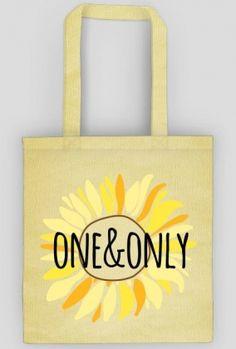 Słonecznik - torba - bag - sunflower - one&only