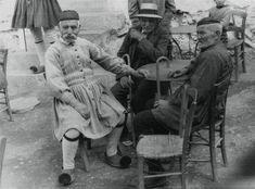 Des paysans d' Anachora 1935 - 1936. Elisabeth Makovska.