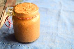 Almond butter recipe from MyNutriCounter
