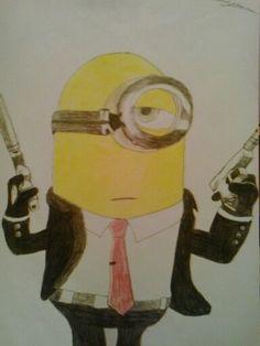 Minion 007. Un encargo especial de mi amigo Andima.