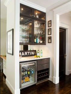 Stainless Steel Small Wet Bar : Designers' Portfolio : HGTV - Home & Garden Television