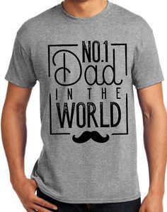 Awesome Father's Day Shirt! Order now to get it in time for Father's Day! Several color schemes available Always $12.00, always FREE shipping