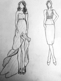 Fashion Design Sketches For Beginners Fashion design sketch