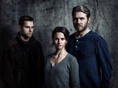 "Protagonistas de la serie ""Modus"", basada en las novelas de Anne Holt"