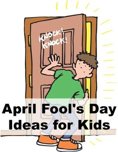 April fools jokes and pranks for children