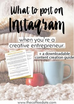 Download the free content creation guide that will change your Instagram strategy!