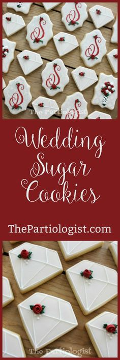 The Partiologist: Bridal Shower Sugar Cookies! No Sugar Foods, Low Sugar, Sugar Free, Party Shop, Bridal Showers, Cake Art, Sugar Cookies, Cookie Recipes, Cake Decorating