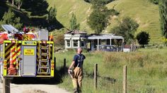 Fire services at the house on Longacre Rd, Okoia. Boxing Day, Fire, News, House, Haus, Home, Homes
