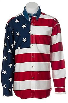 """""""Making a pledge wear an American Flag shirt every day. We call him the 'Pledge of Allegiance."""" TFM."""