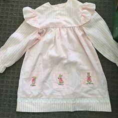 Vintage Little Girls Dress Ronsue Original | eBay