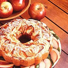 German Apple Cake..