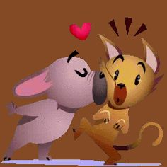Good Night Gif, Good Night Moon, Good Morning Funny, Love Hug, L Love You, Love Stickers, Love Images, Animals Beautiful, Animation