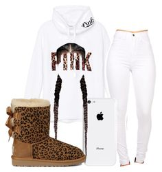 """""""Untitled #212"""" by neca-xoxo ❤ liked on Polyvore featuring mode, Victoria's Secret PINK en UGG Australia"""