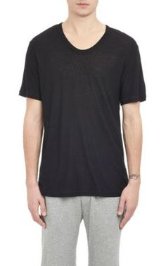 T BY ALEXANDER WANG Slub Oversize T-Shirt. #tbyalexanderwang #cloth #t-shirt
