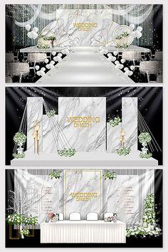 Modern minimalist Mori marble texture wedding background renderings#pikbest#decors-models Wedding Scene, Wedding Day, Wedding Stage Design, Wedding Decorations, Table Decorations, Wedding Background, Marble Texture, 3d Models, Marble Pattern