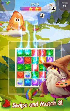 "Color Frenzy is the first game ever to combine the popular ""Match and ""Slide-A-Puzzle"" Grid Game, He Got Game, Game Effect, Match 3 Games, Game Ui Design, Game Interface, Game Icon, Mini Games, First Game"
