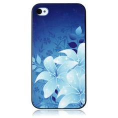 Rural Blue Plastic iPhone4/4S Case.