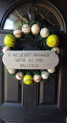 c150a88a8aea559111903d6031a0c258.jpg 528×960 pixels Wreaths, Tees, Baseball, Stuff To Buy, Home Decor, Homemade Home Decor, Tee Shirts, Teas, Deco Mesh Wreaths
