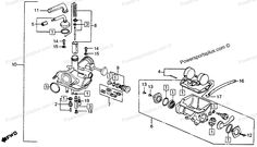 40 best c70 images hondadiagram of honda motorcycle parts 1976 ct90 a carburetor k6 77 diagram