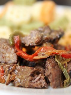 Crock Pot Sirloin Tips: Serve these mouth-watering sirloin tips over rice or egg noodles.