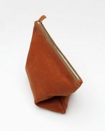 Foldover Clutch in Cognac - need supply co