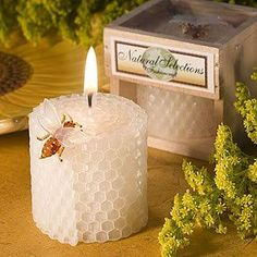Pure Beeswax Candles Favors