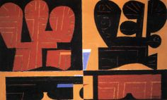 Yiannis Moralis Ecole Art, Greek Art, Postmodernism, Fresco, Mosaic, Artists, Fine Art, Painting, Design