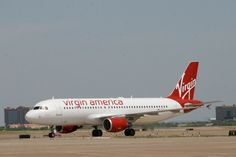 Virgin America- John & I have spent over half our relationship flying on Virgin America, lol.