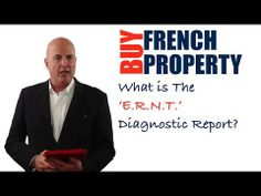 In this video, you're going to discover what the 'Etat des Risques Naturels et Technologiques' or 'ERNT' diagnostic report is in a French property sale