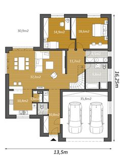 Garage Plans, Floor Plans, Flooring, How To Plan, Inspiration, Flats, Luxury, Projects, Biblical Inspiration