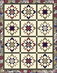 Hello Friends, I hope you are doing well!  May is Military Appreciation Month!  If your family is/was one, please know that my family appreciates you. I am happy to share with you another Quilt of …
