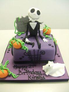 CAKE - Nighmare before Christmas (by Jules... - Disney Cakes