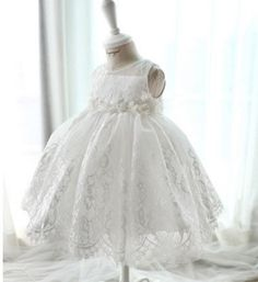 Royal Baby Couture Baby Dress - baptism dress, flower girl dress, pageant dress, holiday dress, pictures, lacy dress