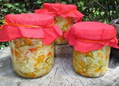 Sałatka obiadowa do słoików Fresh Rolls, Frugal, Jar, Homemade, Canning, Ethnic Recipes, Food, Salads, Home Made