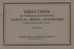 DIRECTIONS for Connecting and Operating VERTICAL MODEL GOVERNORS - DIRECTIONS for Connecting and Operating VERTICAL MODEL GOVERNORS.jpg