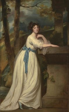 George Romney, ​Portrait of Mrs. Andrew Reid​, c. 1770–88, oil on canvas, Kimbell Art Museum, Fort Worth.