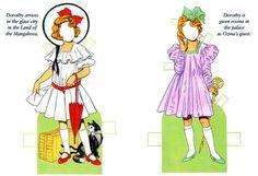 Original Wizard Of Oz, Dolls Film, Bobe, Dover Publications, Book Activities, Paper Dolls, Alice In Wonderland, Fairy Tales, Diy And Crafts